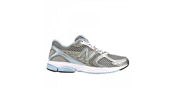 Dámske šedo-modré bežecké tenisky New Balance