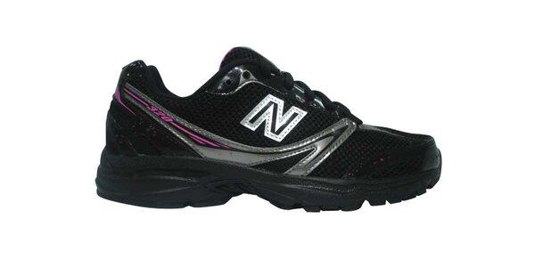 Dámske čierne bežecké tenisky New Balance