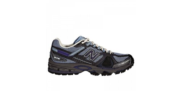 Dámska šedo-modrá terénna bežecká obuv New Balance