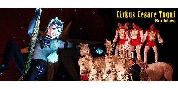 Cirkus Cesare Togni v Podunajských Biskupiciach 19.9.-22.9.