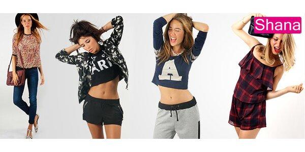 30 % zľava na trendové oblečenie Shana