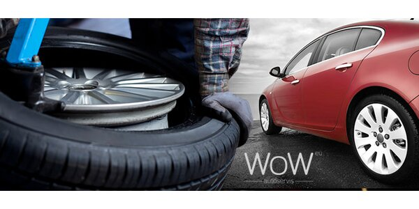 Prezutie pneumatík so sezónnym uskladnením kolies