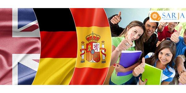 Kurzy angličtiny, nemčiny alebo španielčiny pre začiatočníkov