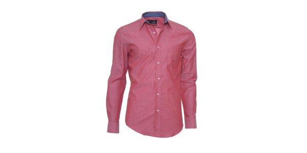 Pánska korálovo červená košeľa z limitovanej kolekcie Pontto