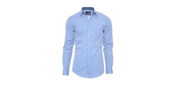 Pánska svetlo modrá košeľa z limitovanej kolekcie Pontto