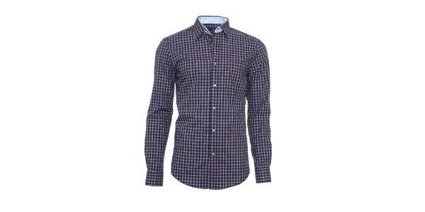 Pánska jemne károvaná košeľa Pontto