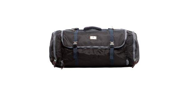 Čierna cestovná taška Tommy Hilfiger