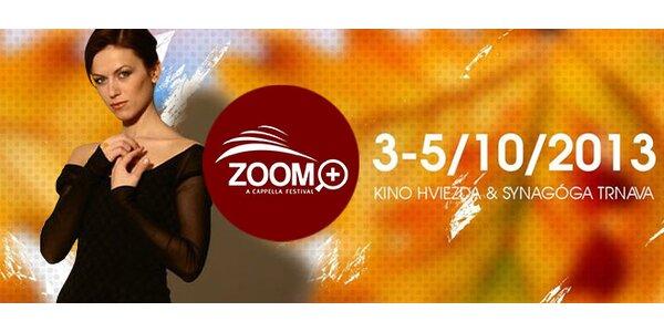 Medzinárodný a cappella festival ZOOM+