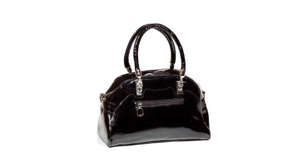 Dámska čierna lakovaná kabelka Missing Johnny