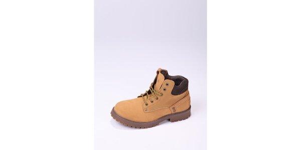 Pánske pieskové členkové topánky Wrangler