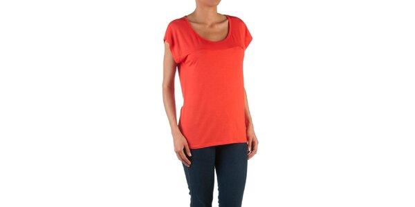 Dámske červené basic tričko Womens Secret