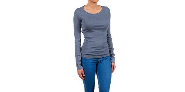 Dámske modro-šedé basic tričko Womens Secret