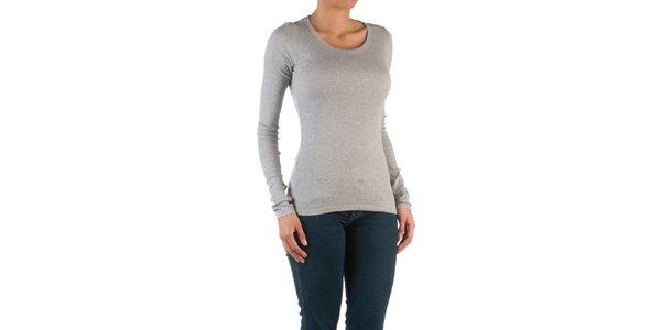 Dámske svetlo šedé basic tričko Womens Secret
