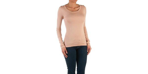 Dámske lososové basic tričko Womens Secret