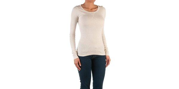 Dámske krémovo biele basic tričko Womens Secret