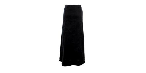 Dámska dlhá čierna rozšířená sukňa Next