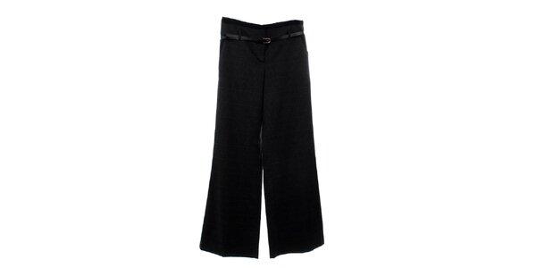 Dámske tmavo šedé kockované nohavice Next