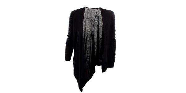 Dámsky čierny asymetrický sveter Next