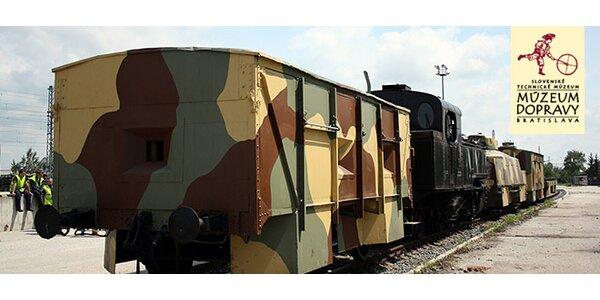 Výstava: Povstalecké pancierové vlaky