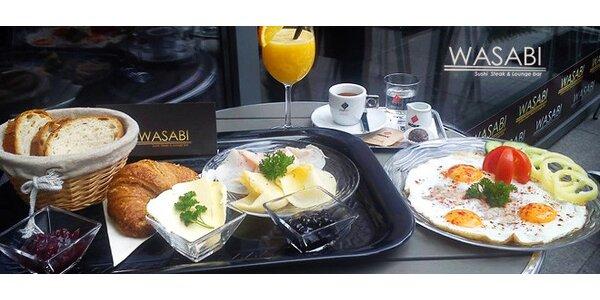 Raňajkové business menu