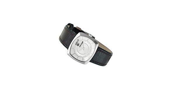 Dámske analogové hodinky s čiernym remienkom Replay