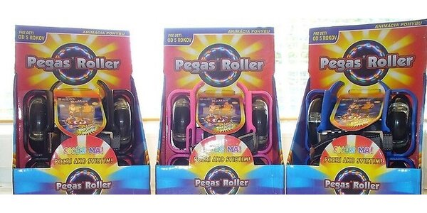 Pegas roller- kolieska na topánky
