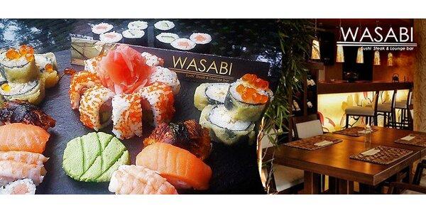 Exkluzívny sushi set alebo degustačné sushi menu