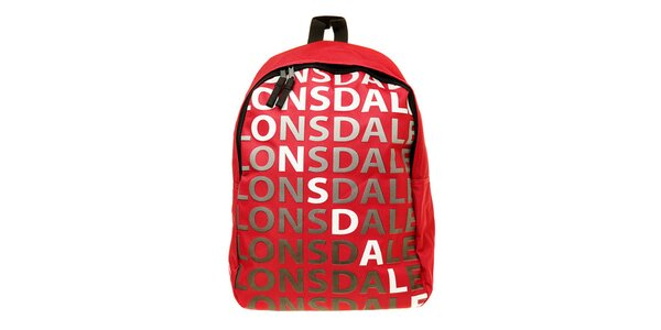 Pánsky červený batoh Lonsdale
