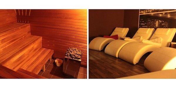 Dvojhodinový vstup s možnosťou využitia fínskej a parnej sauny