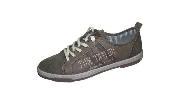 Pánske svetlo hnedé tenisky Tom Tailor