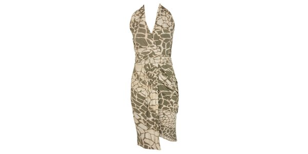 Dámske glamorous šaty so zvieracou potlačou CeMe London