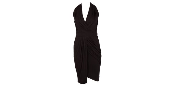 Dámske čierne glamorous šaty CeMe London