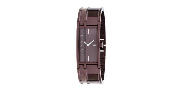 Dámske fialové náramkové hodinky Esprit