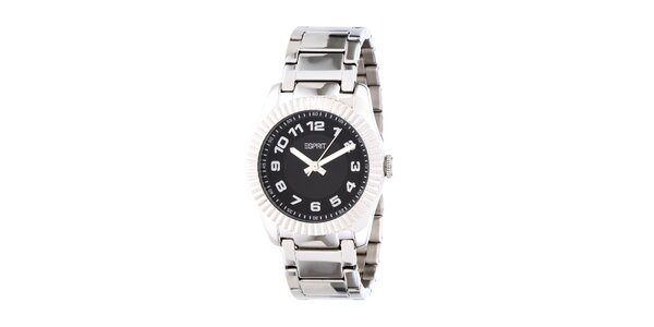Dámske strieborné oceľové hodinky Esprit s kovovým remienkom