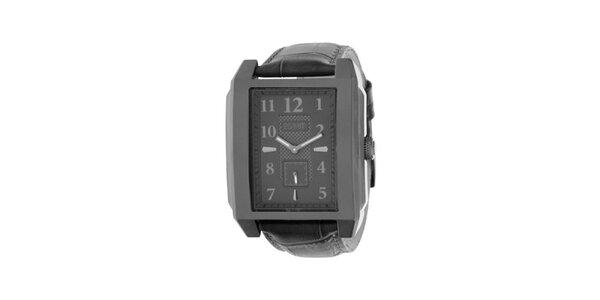 Pánske kovove šedé analogové hodinky Esprit