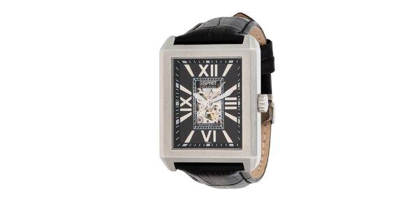 Pánske oceľové hranaté hodinky Esprit