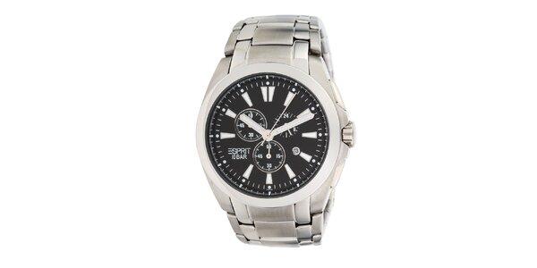 Pánske oceľové analogové hodinky s chronografom Esprit