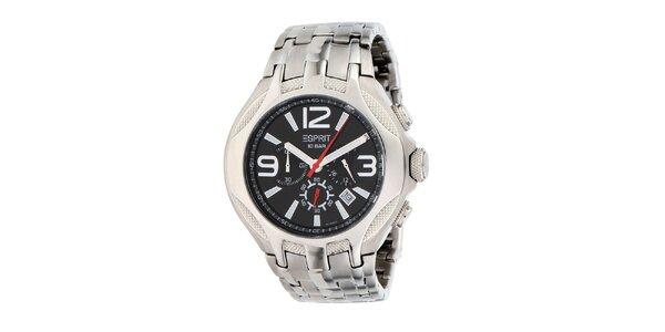 Pánske oceľové hodinky s chronografom Esprit