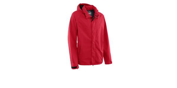 Pánska červená nepremokavá bunda Maier s membránou