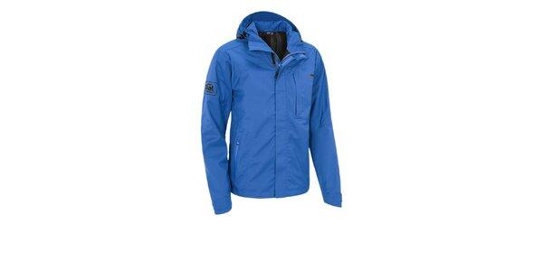 Pánska modrá funkčná bunda Maier