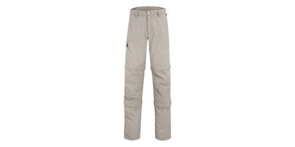 Pánske svetle béžové nohavice Maier s odpínateľnými zipsami