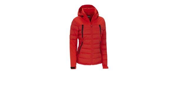 Dámska červená funkčná outdoorová bunda Meier
