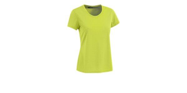 Dámske tričko s krátkým rukávom Maier limetkové
