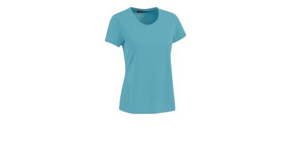 Dámske tričko s krátkým rukávom Maier tyrkysové