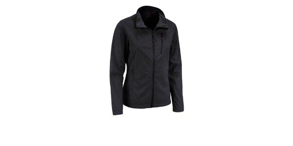 Dámska čierna trojvrstvová softshellová bunda Maier