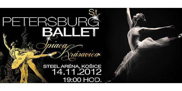 Baletné predstavenie Spiaca krásavica St. Petersburg Ballet Theatre