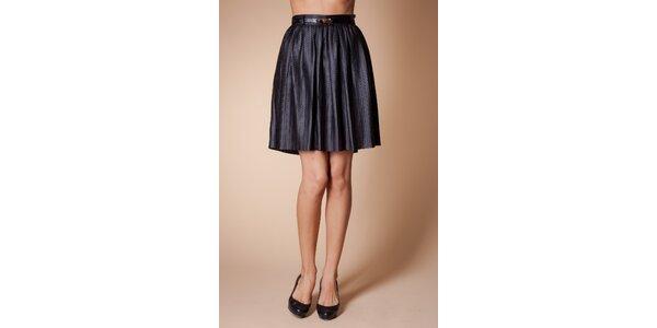 Dámska čierna sukňa Poete