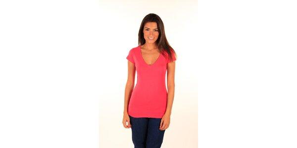 Dámske žiarivo ružové tričko Aéropostale