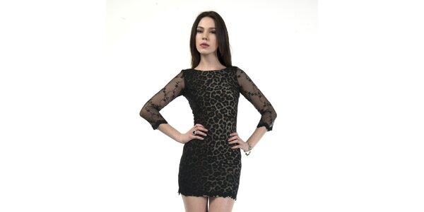 Dámske leopardie minišaty Via Belucci