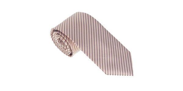 Luxusná kravata s bodkami Castellet Barcelona